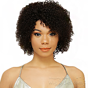Black Divine Human 100% Virgin Human Hair Wig - HW JERRY