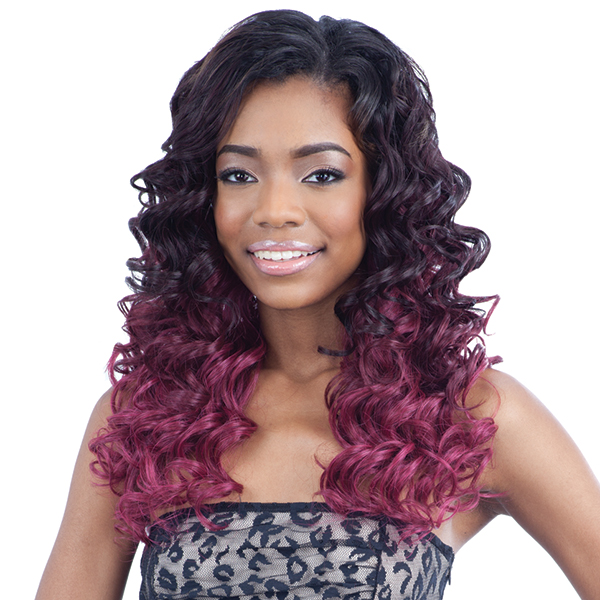 Milky Way Que Human Hair Blend Weave - MALAYSIAN GLAM ROLL 7 (Buy 1 Get 1 FREE)