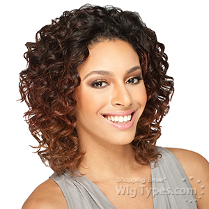 Milky Way Que Human Hair Blend Weave Short Cut Series - FRENCH TWIST 3PCS