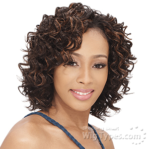 Milky Way Que Human Hair Blend Weave Short Cut Series - NEW DEEP 3PCS