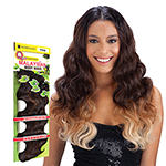 Milky Way Que Human Hair Blend Weave - MALAYSIAN BODY WAVE 7 BUNDLE (16/16/18/18/20/20 + closure)