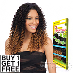 Milky Way Que Human Hair Blend Weave - MALAYSIAN KINKY CURL 7 BUNDLE (Buy 1 Get 1 FREE)