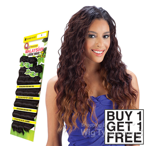 Milky Way Que Human Hair Blend Weave Malaysian Loose