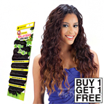 Milky Way Que Human Hair Blend Weave - MALAYSIAN LOOSE WAVE 7 BUNDLE (Buy 1 Get 1 FREE)