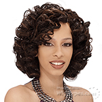 Milky Way Que Human Hair Blend Weave Short Cut Series - SPIRAL 3PCS
