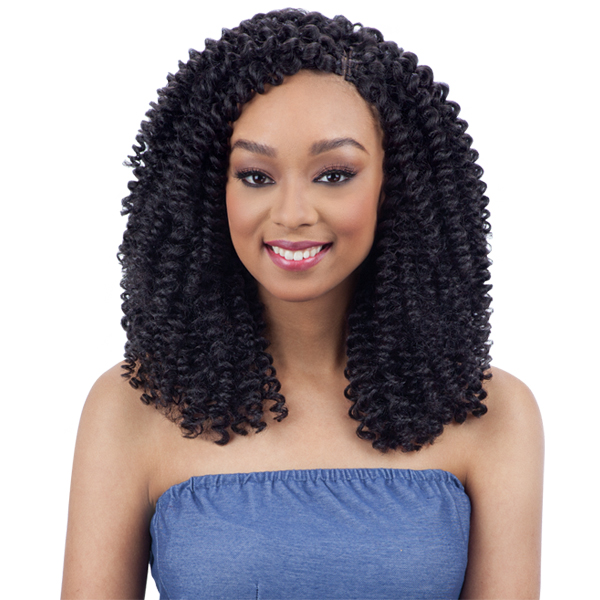 Milky Way Que Human Hair Blend Wand Curl Weave - POPPING WAND CURL