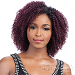 Milky Way Que Human Hair Blend Weave Short Cut Series - Q TWIRL CURL