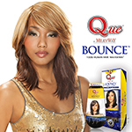 Milky Way Que Human Hair Blend Weave - BOUNCE 10""