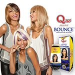 Milky Way Que Human Hair Blend Weave - BOUNCE 8""
