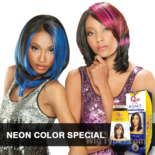 Milky Way Que Human Hair Blend Weave Bounce 8 Neon