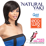 Outre Synthetic Wig Quick Weave - ECO WIG Natural YAKI 12 (futura)