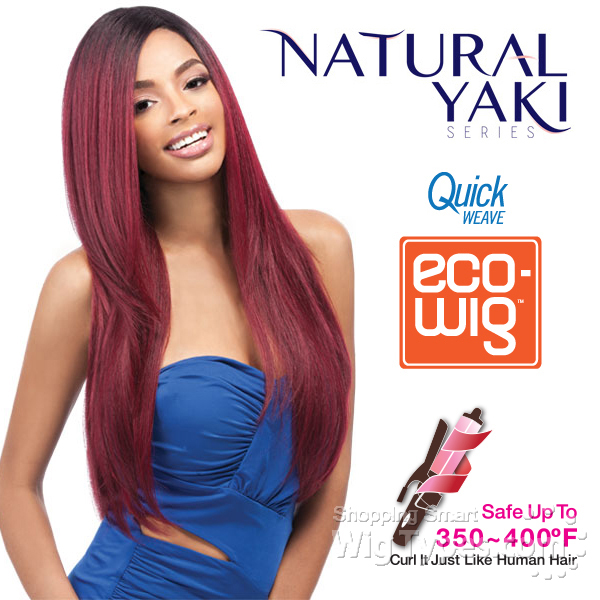 Outre Quick Weave Eco Wig Natural Yaki 24