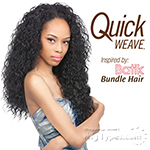 Outre Synthetic Half Wig Quick Weave - BATIK PERUVIAN BUNDLE HAIR