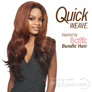 Outre Synthetic Half Wig Quick Weave - BATIK DOMINICAN BLOW OUT RELAXED BUNDLE HAIR
