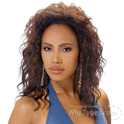 outre 100 indian human hair half wig quick weave heidi