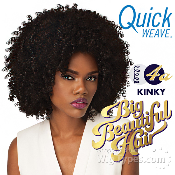 Outre Synthetic Half Wig Quick Weave Big Beautiful Hair