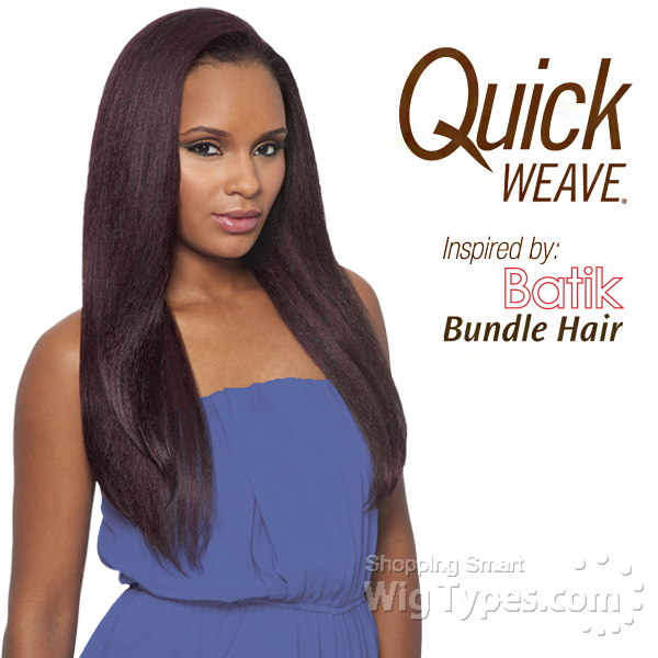 Outre Synthetic Half Wig Quick Weave Batik Dominican Blow Out