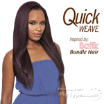 Outre Synthetic Half Wig Quick Weave - BATIK DOMINICAN BLOW OUT STRAIGHT BUNDLE HAIR (Futura)