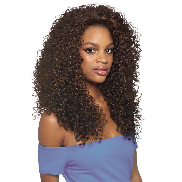 Outre Synthetic Half Wig Quick Weave Batik Dominican Curly Bundle