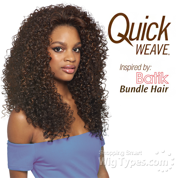 Outre Synthetic Half Wig Quick Weave Batik Dominican Curly Bundle