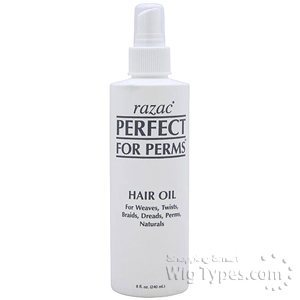 Razac Perfect for Perms Hair Oil 8oz