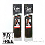 Outre 100% Human Hair Weaving - Rebel Yaki (Buy 1 Get 1 FREE)