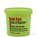 Red Fox Tub O'Butter Olive Oil Butter Moisturizing Creme 11.5oz