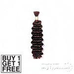 Royal Tiara Human Hair Blend braid - Deep Bulk 18 (buy 1 Get 1 Free)