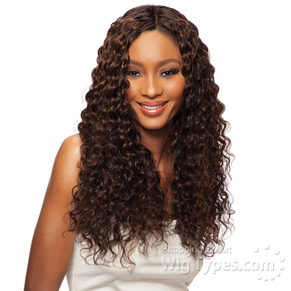 Indian remy human hair weave (wet & wavy) - WigTypes.com