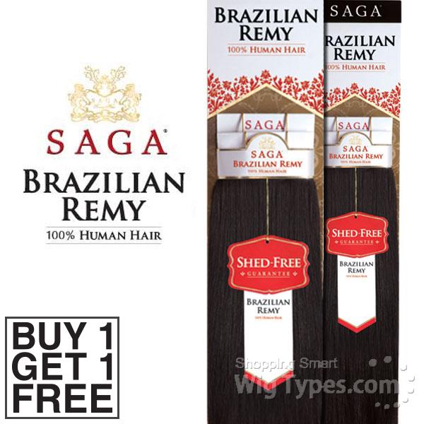 Saga Brazilian Remy Hair Care 26