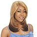 Milky Way Saga 100% Remy Human Hair Invisible Part Lace Front Wig - SECRET