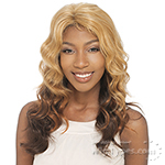 Milky Way Saga 100% Remy Human Hair Invisible Part Lace Front Wig - VENUS