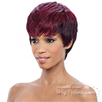 Milky Way Saga 100% Remy Human Hair Wig - CRANBERRY
