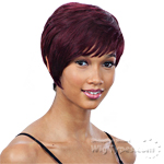 Milky Way Saga 100% Remy Human Hair Wig - MISTY ROSE
