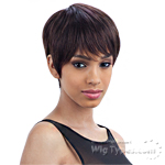 Milky Way Saga 100% Remy Human Hair Wig - PINK BERRY