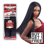 Milky Way Saga 100% Human Hair Weave - POPULAR YAKY 12,12,14,14 (Buy 1 Get 1 FREE)