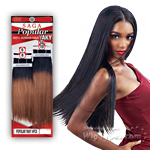Milky Way Saga 100% Human Hair Weave - POPULAR YAKY 4PCS (8/8/10/10)