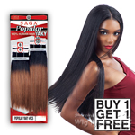 Milky Way Saga 100% Human Hair Weave - POPULAR YAKY 8,8,10,10 (Buy 1 Get 1 FREE)