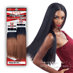 Milky Way Saga 100% Human Hair Weave - POPULAR YAKY 4PCS (10/10/12/12)