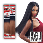 Milky Way Saga 100% Human Hair Weave - POPULAR YAKY 10,10,12,12 (Buy 1 Get 1 FREE)