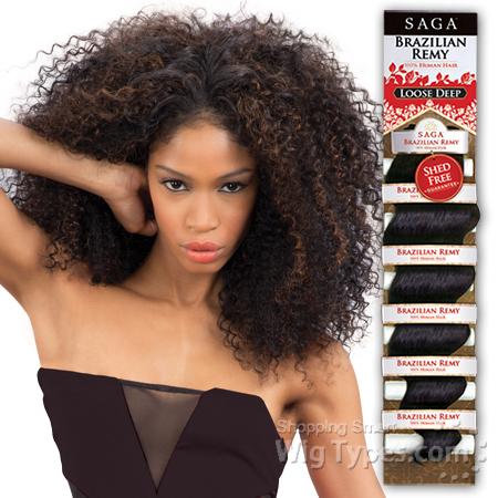 Indian Remy Brazilian Curl Weave 36