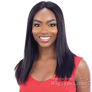 Milky Way Saga 100% Human Hair Lace Front Wig - SLEEK REMY YAKY