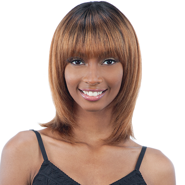Milky Way Saga 100% Remy Human Hair Wig - SNOW