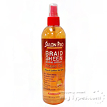 Salon Pro Braid Sheen Shine Spray Argan Oil 12oz