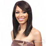 It's A Wig Salon Remi 100% Brazilian Virgin Human Hair Wig - NATURAL HARRIET