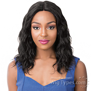 It's A Wig Salon Remi 100% Human Hair Lace Front Wig - WET N WAVY PACIFIC WAVE