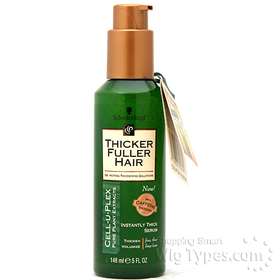 Thicker Fuller Hair Instantly Thick Serum 5oz Wigtypes Com