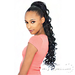 Sensual Sens Sens Synthetic Hair Ponytail - CARNATION