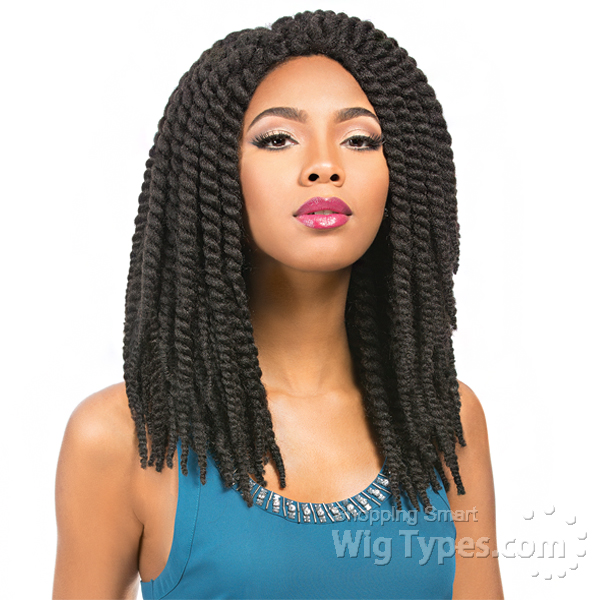 Sensationnel Synthetic Hair Crochet Wig - RUMBA TWIST BRAID - WigTypes ...