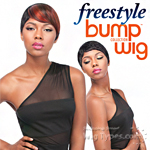 Sensationnel 100% Human Hair Free Style Bump Wig - BOBBY